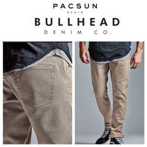 Bullhead Denim Co 34 x 30 Gravels Slim Jeans F